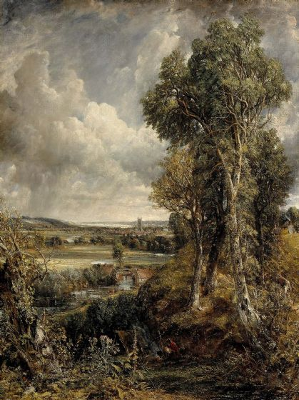 Constable, John: The Vale of Dedham. Fine Art Print/Poster. (0066)